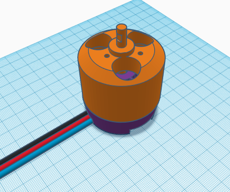 3D Printed Brushless Motor (Tinkercad Design Contest)