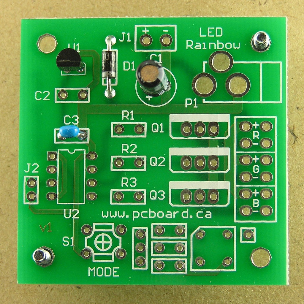 Assembly Step 4: Capacitor C1