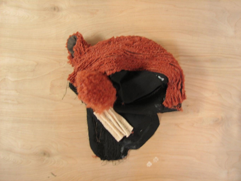 Sew on Remaining Fur