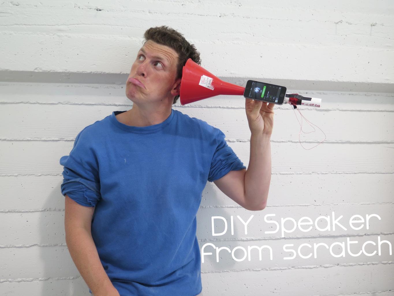 PVC Speaker From Scratch!