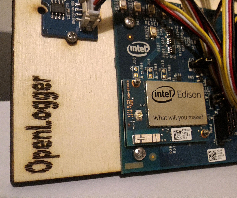 OpenLogger with Intel Edison