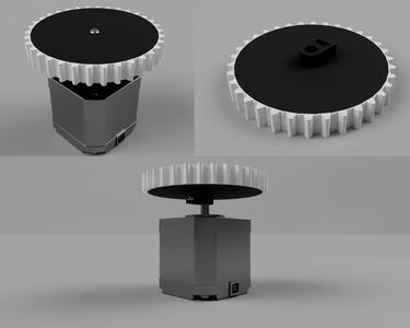 3D Printed Drive Wheel