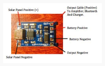 Wiring the Micro USB Battery Charger