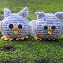 Beginner-Friendly Knitted Baby Owl Amigurumi