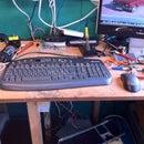 Super Capacitor keyboard mod
