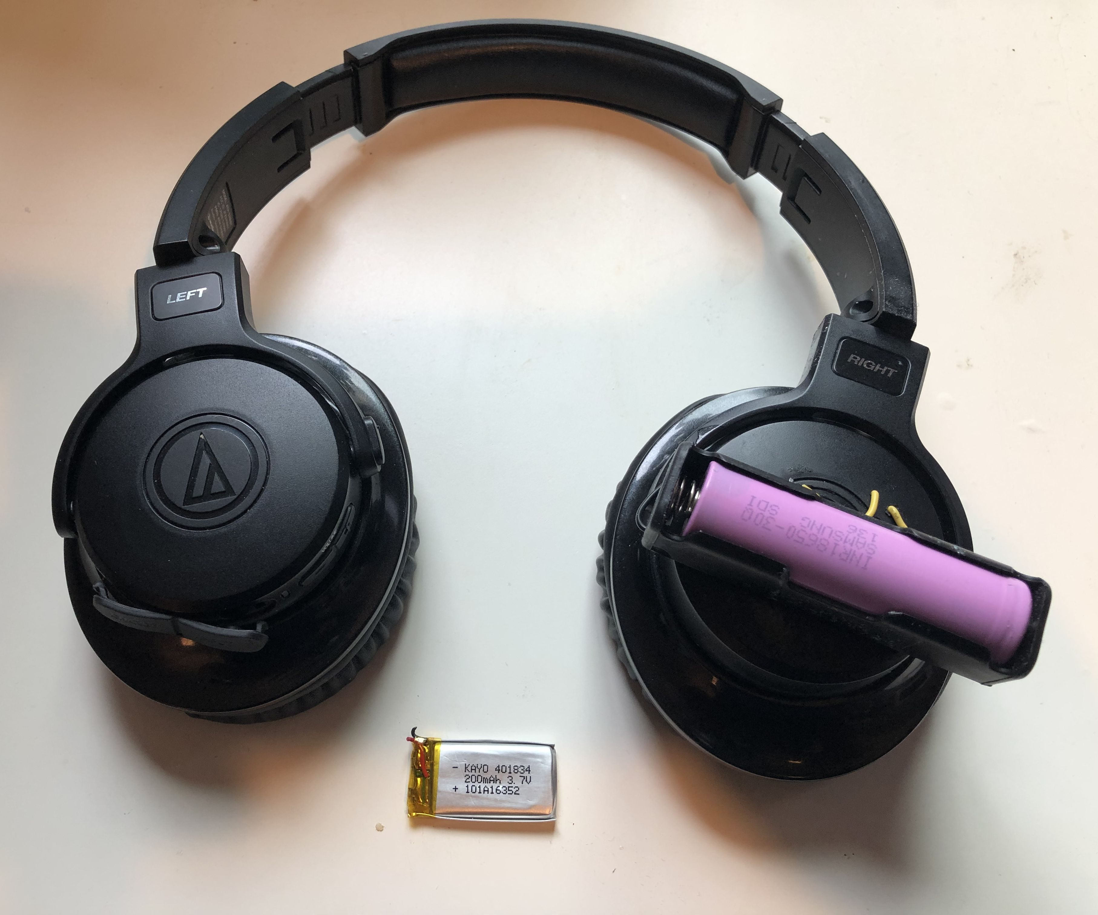 Upgrade Your Bluetoth Headset Battery Capacity