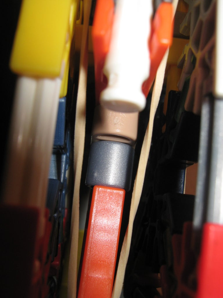 Attatching the Handle, the Firing Pin and Elastic Band Configuration
