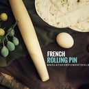 French Rolling Pin - No Lathe!