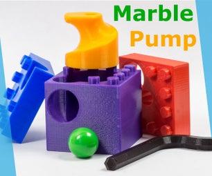 我是如何设计的大理石泵 -  3D可打印和乐高兼容