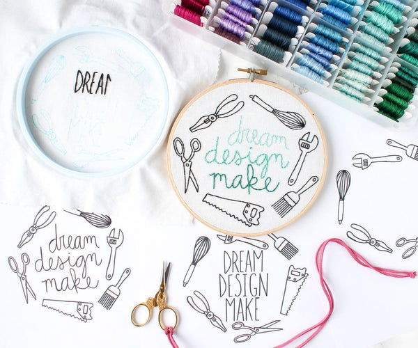 Dream Design Make Free Embroidery Pattern