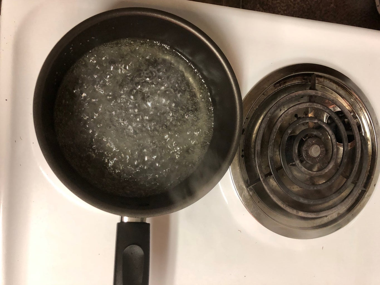 Add Vegetable Oil and Salt