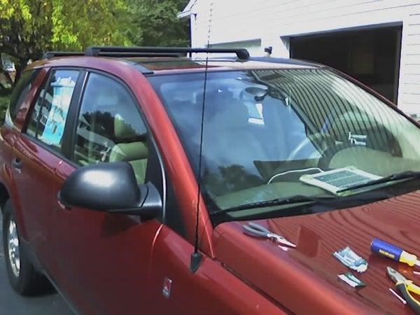 Replacing a Broken Auto Antenna