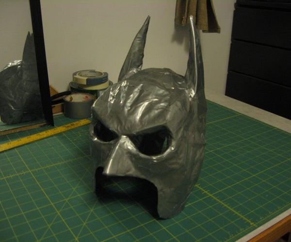 Duct Tape Batman Mask