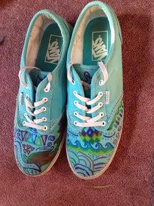 Sharpie Design Shoes