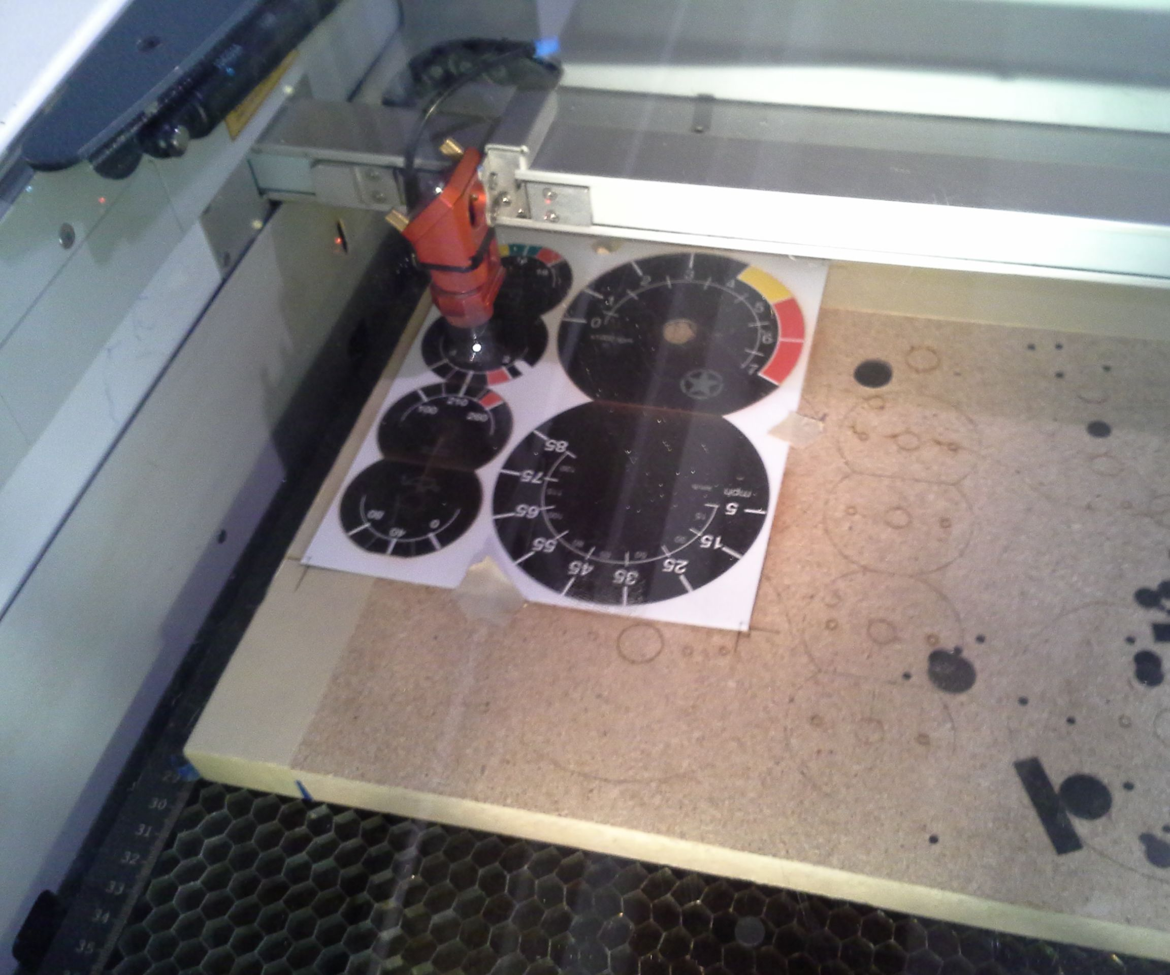 Print and then laser cut, a quick tutorial