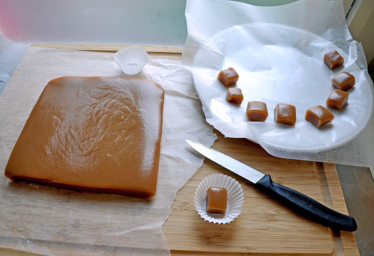 Cut Up Caramels
