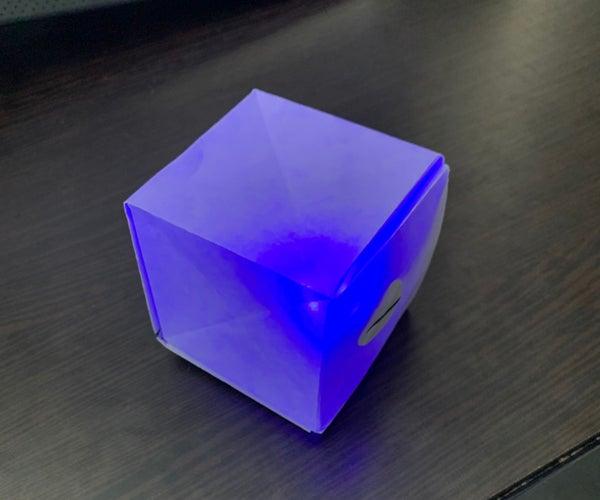 LED Paper Cube