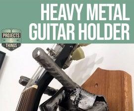 Metal Hand Guitar Holder