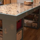 Seascape Craft Table