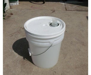 How to Remove 5 Gallon Bucket Lids