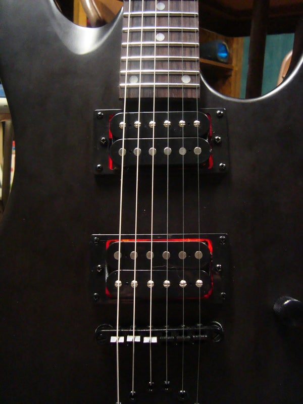 Led Electric Guitar Pickup Mod *** Updated With Schematic for Blinking Leds and Video!