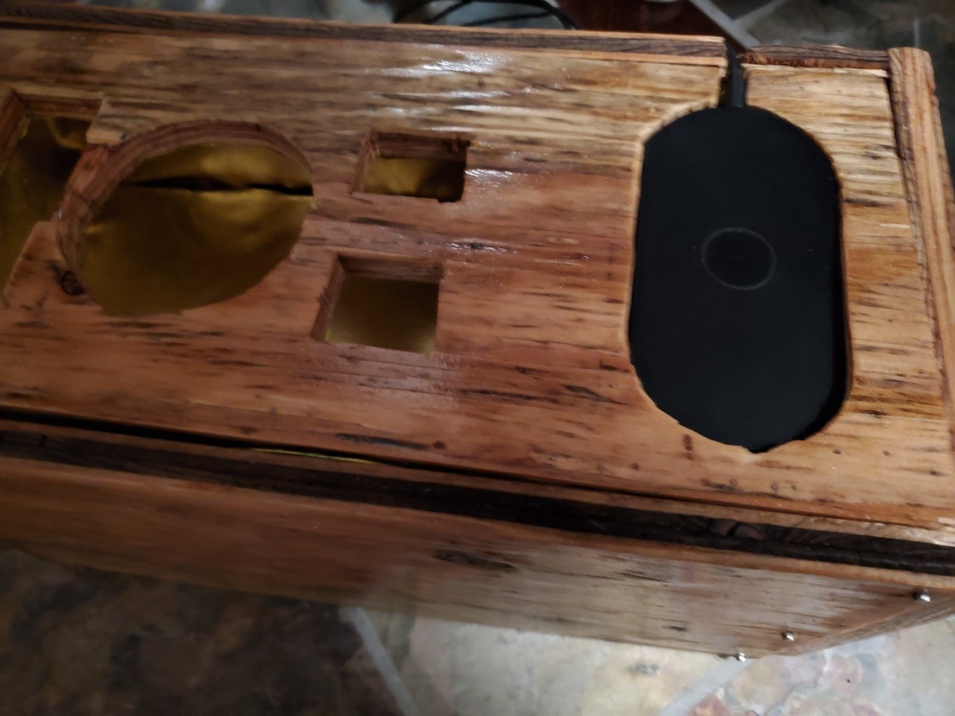 Adding the Wireless Charger
