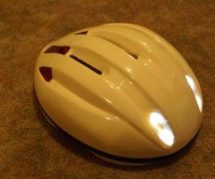 Sleek LED Helmet