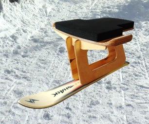 DIY滑雪板或滑雪滑雪橇 - 滑雪罗格尔SELBER BUEN