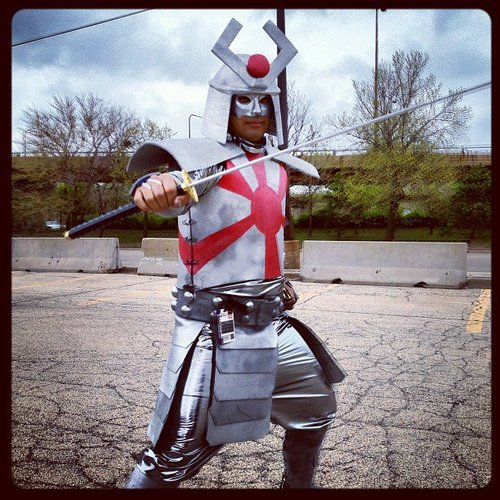 "How to make a Marvel's ""Silver Samurai"" costume"