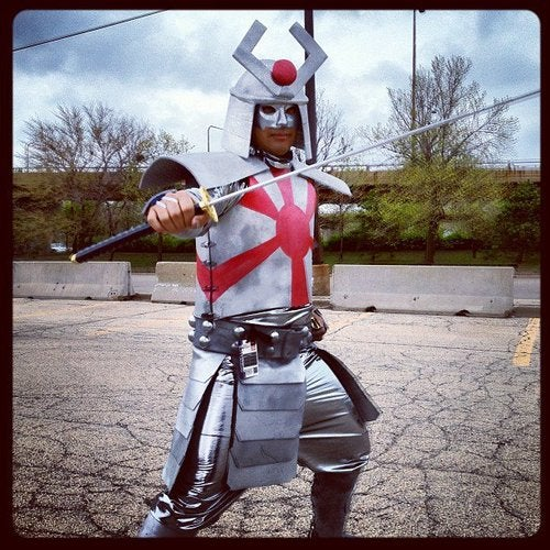 """How to Make a Marvel's """"Silver Samurai"""" Costume"""