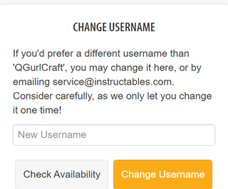 How to Change Your Username in Instructables!