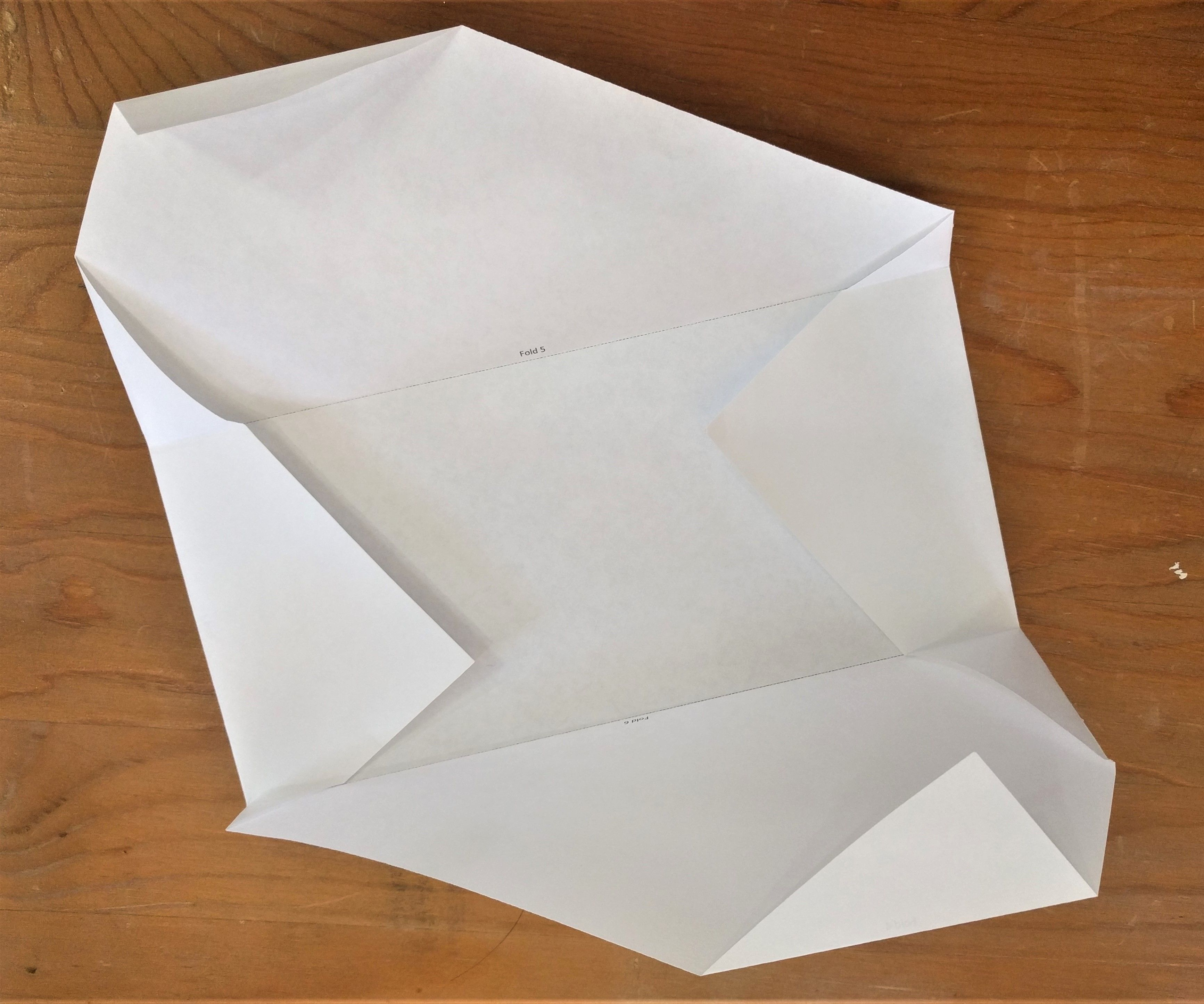 DIY - Fold Letter Envelopes From an 8 ½  X 11 Sheet of Paper