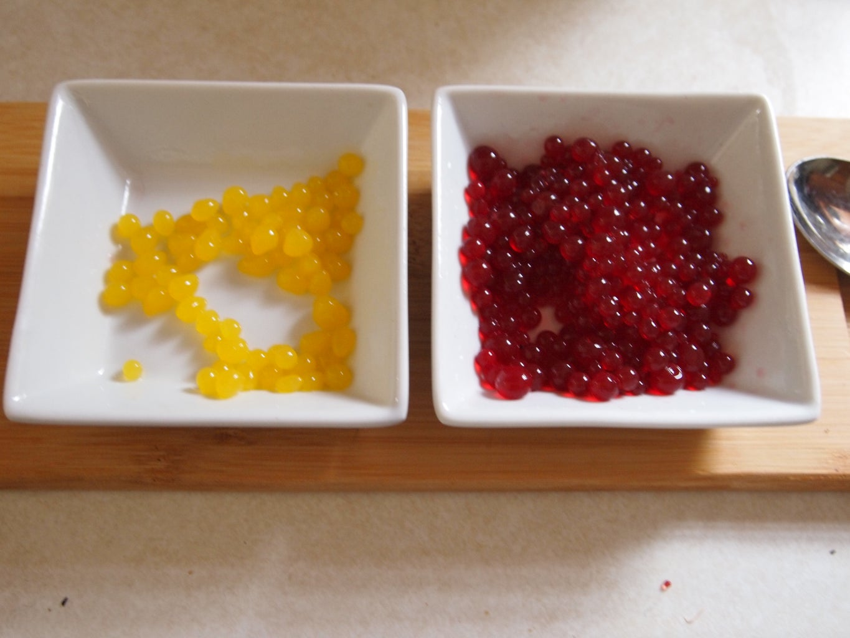 Enjoy Your Gorgeous Spherical Creation - Juicy Caviar