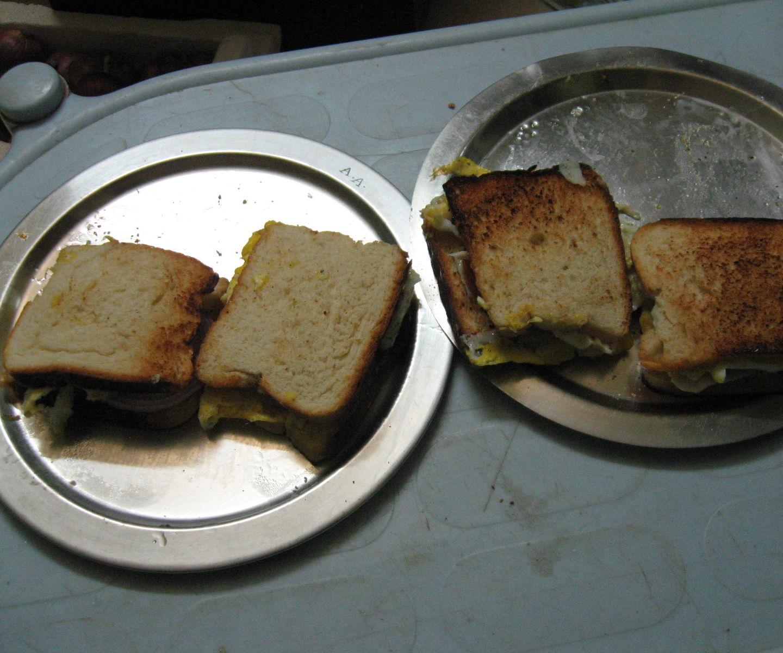 Emergency Breakfast for Two in Ten Minutes