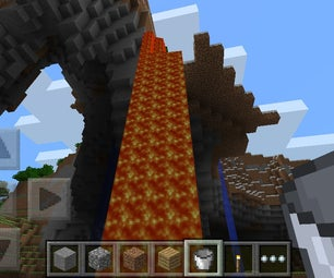 How to Collect Lava on Minecraft Pocket Edition