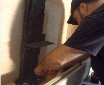 Install Lift Mechanism