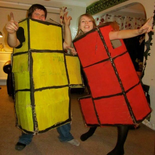 Tetris Block Costume