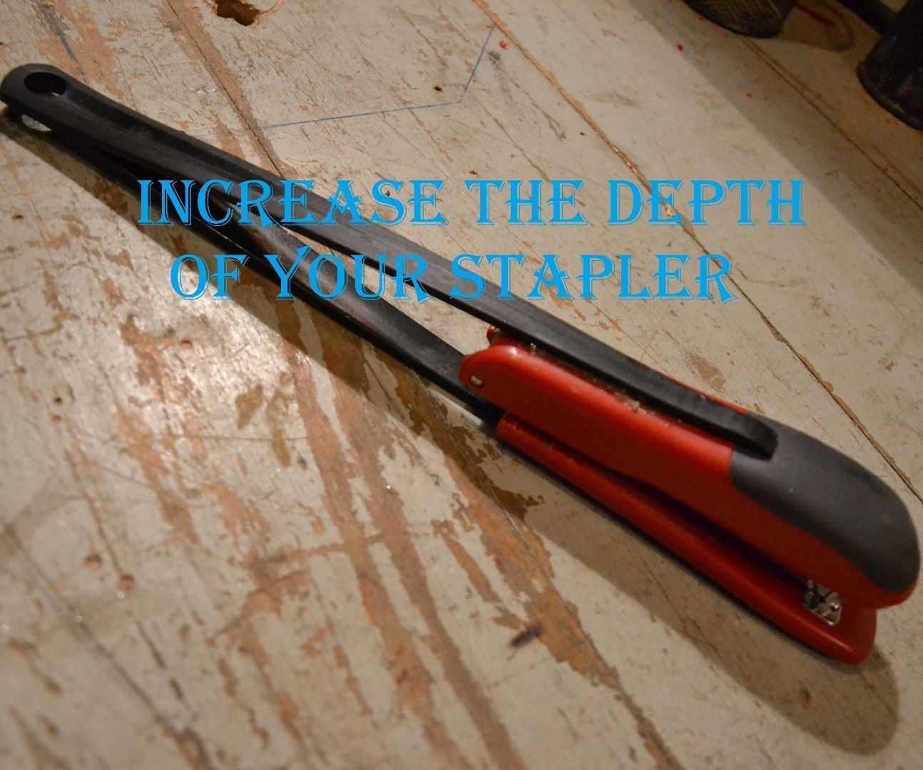 Increase Stapling Depth of Your Stapler