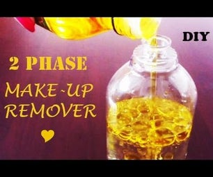 DIY Make-up Remover