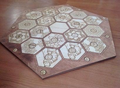 Place Tiles Into Base