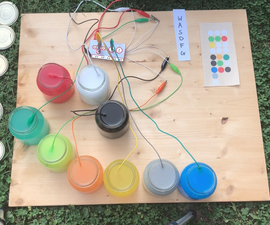 Water Synthesizer With MakeyMakey and Scratch