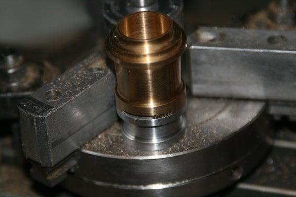 Small Mechanical Iris for a Custom Sonic Screwdriver