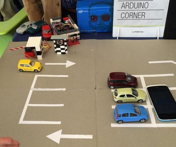 How to Build a Car Park With Intel® Galileo! (Intel IoT)