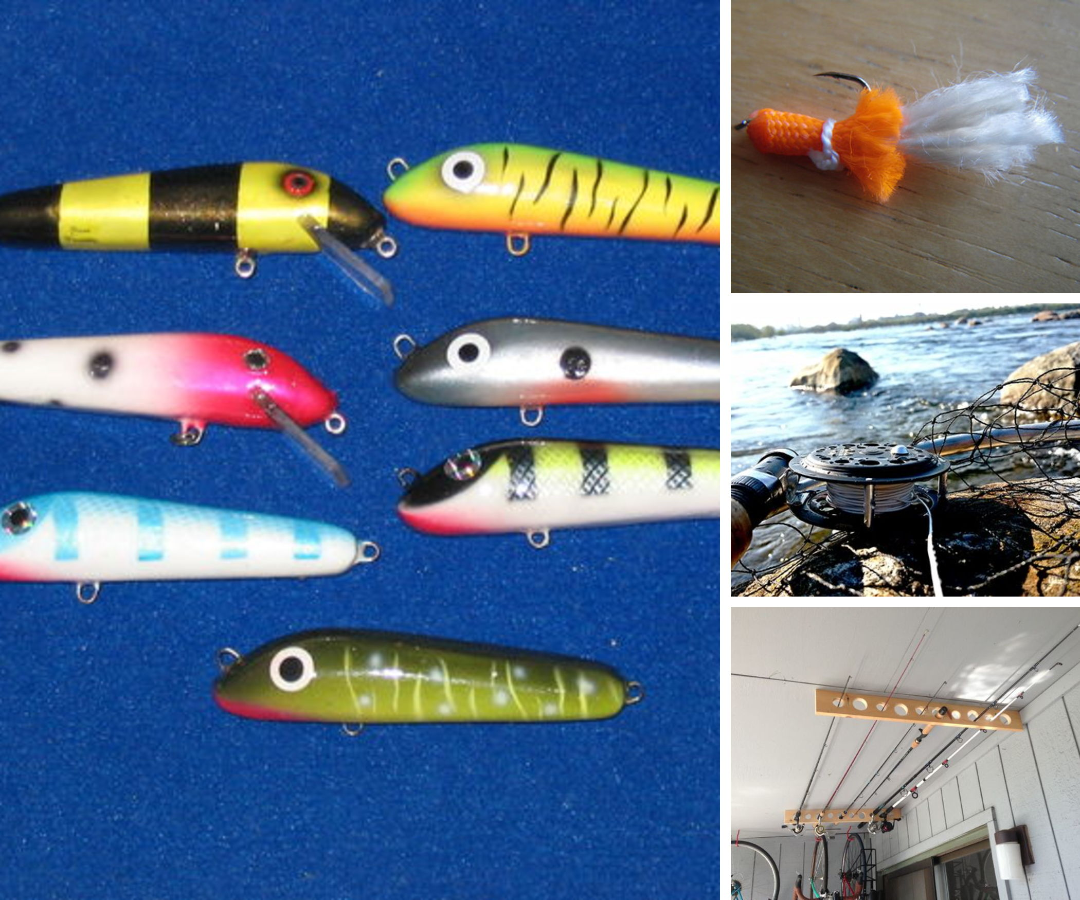 16 DIY Fishing Projects