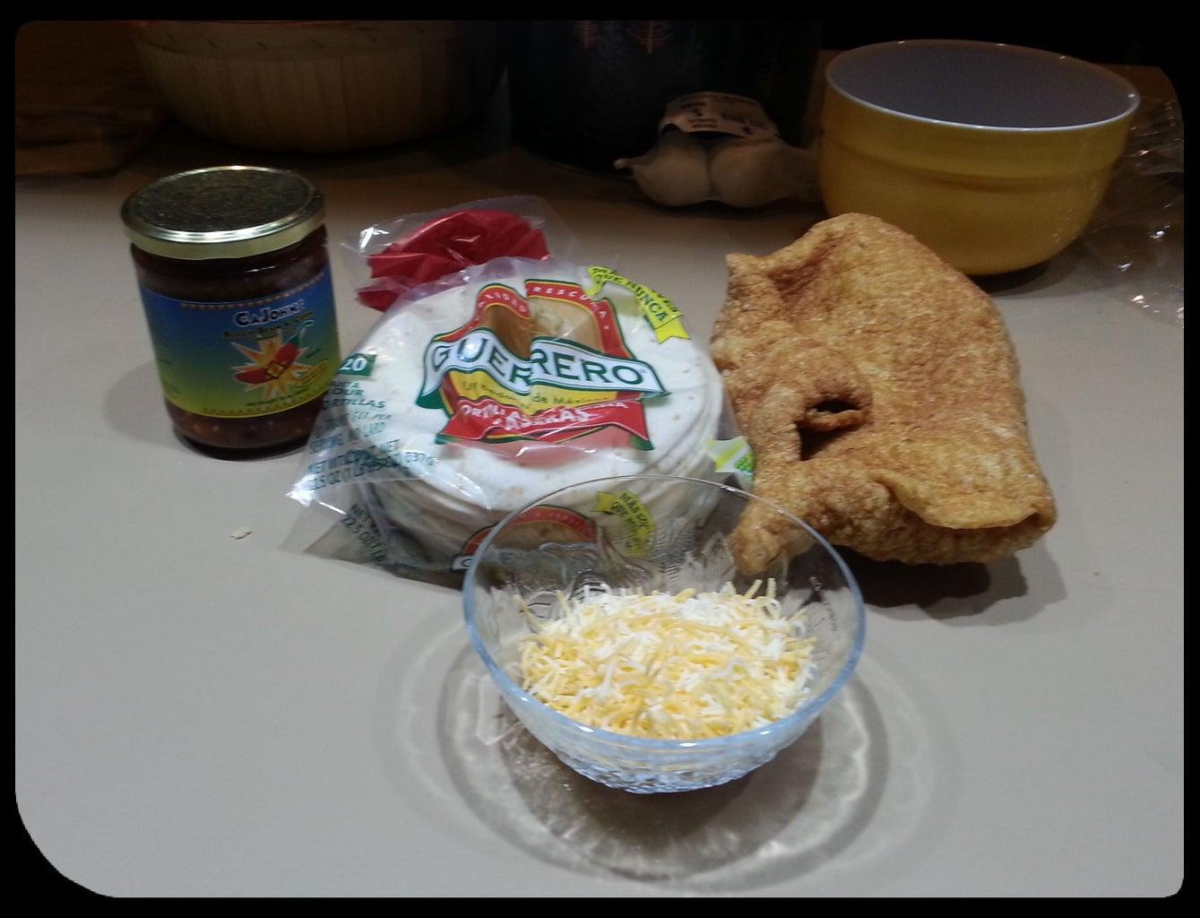 Pork Rind (chicharrones) Tacos