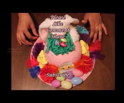 DIY Easter Bonnet - 2 | Easter Decorated Hat DIY - 2