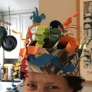 Paper Sculpture Hat
