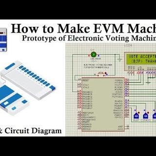 How to Make EVM Machine | इलेक्ट्रॉनिक वोटिंग मशीन (EVM) कैसे बनाये
