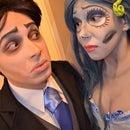 Emily & Victor Van Dort -- The Corpse Bride homemade costumes