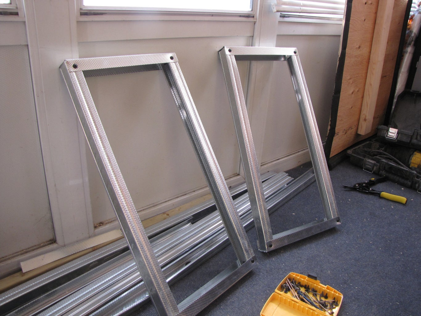 Making the Frame Cont.